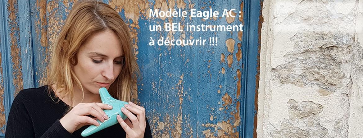 Ocarina Eagle AC : Un bel instrument de musique à découvrir